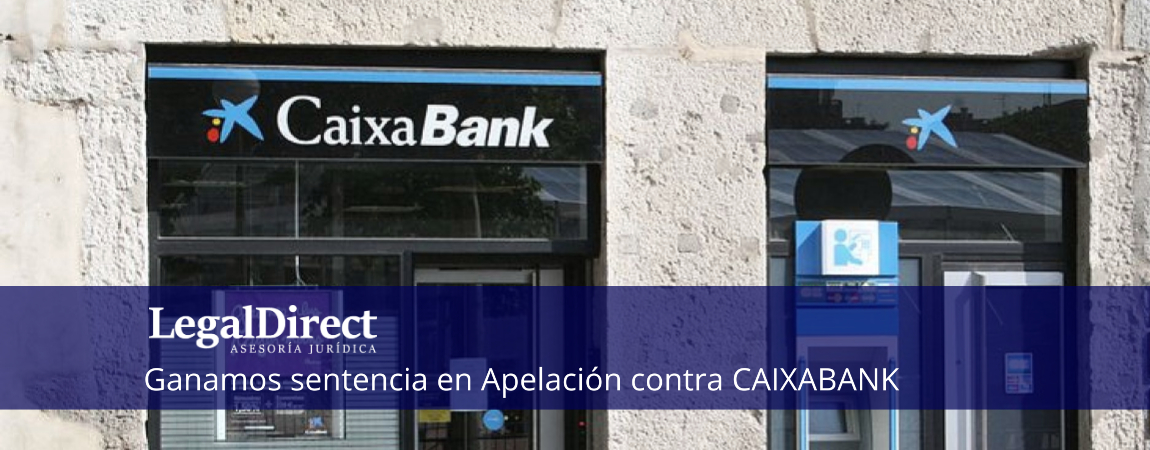 sentencia en apelacion ganada contra caixabank