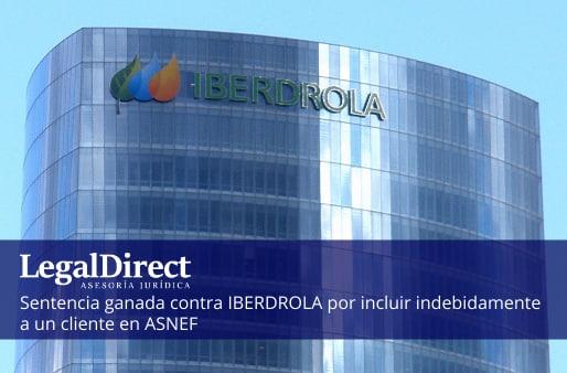 sentencia ganada por LegalDirect contra Iberdrola